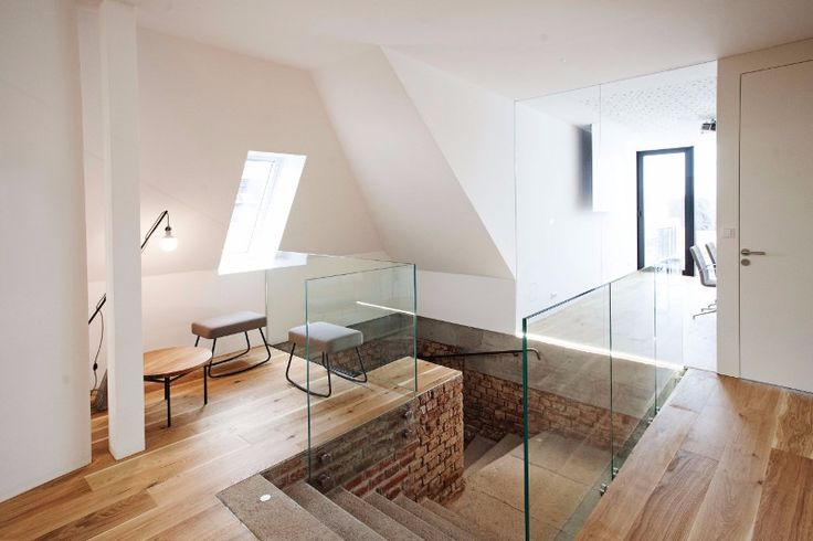 Kancelária v podkroví