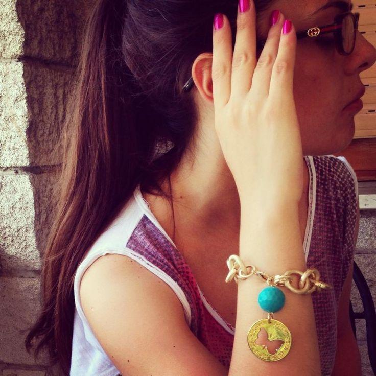 Bracciale #bijoux #summer #butterfly