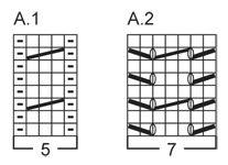 """Twisty - Calzini DROPS ai ferri, con piccole trecce, in """"Fabel"""". Taglie: Dalla 35 alla 43. - Free pattern by DROPS Design"""