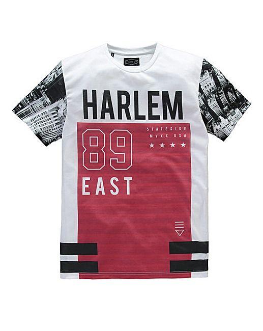 Label J Harlem 89 East T-Shirt Long | Fashion World