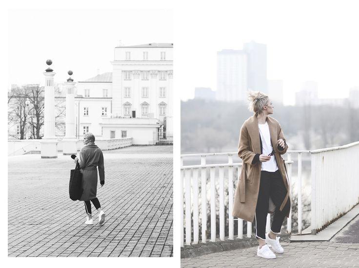 #spodnie damskie Top Secret z lampasami na blogu #rebellook