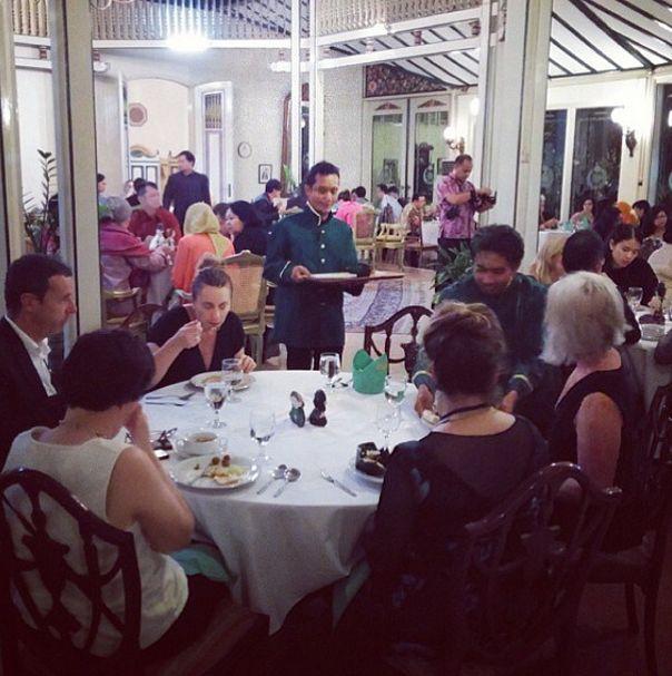 Fine dining at Mangkunegaran Royal Palace on #APSDAday2 pic of @apsdaindonesia