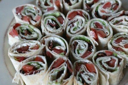 BLT Roll UpsBlt Ranch, And Or Yummy, Recipe, Blt Pinwheels, Shower Foods, Appetizers, Blt Rolls Up, Blt Wraps, Blt Rollups