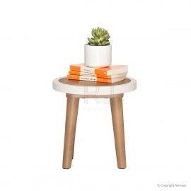 Scandinavian Style Stools & Side Tables | Buy Britt Scandinavian Stool – Retrojan