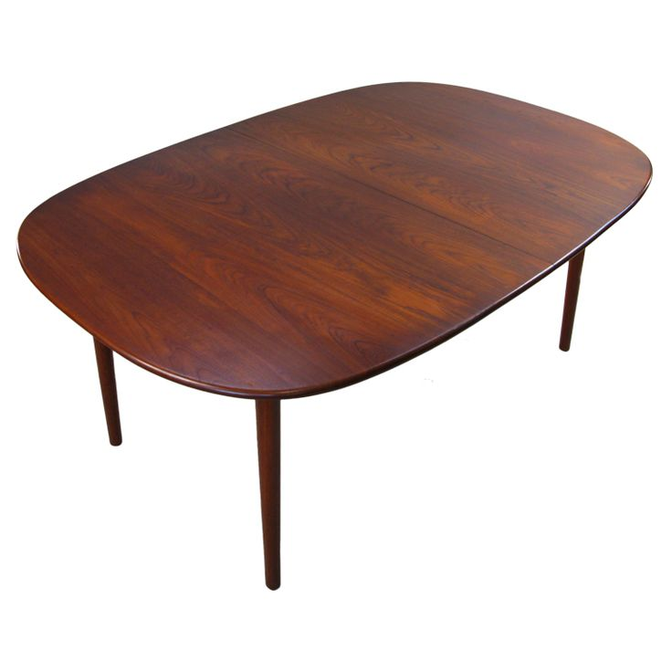 Danish Rosewood Extension Dining Table
