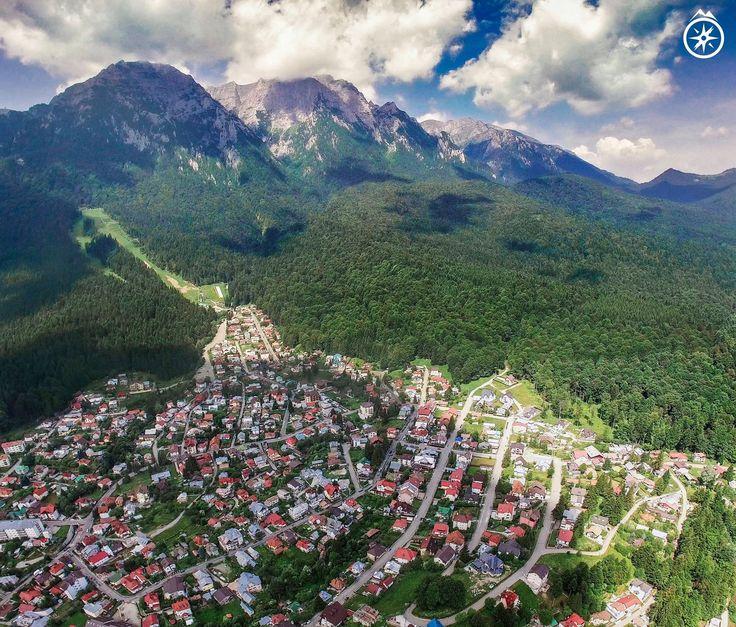 Busteni , Muntii Bucegi ( #romania #bucegi #travel #country #romaniamagica #mountains #carpathians  #carpathianmountains )