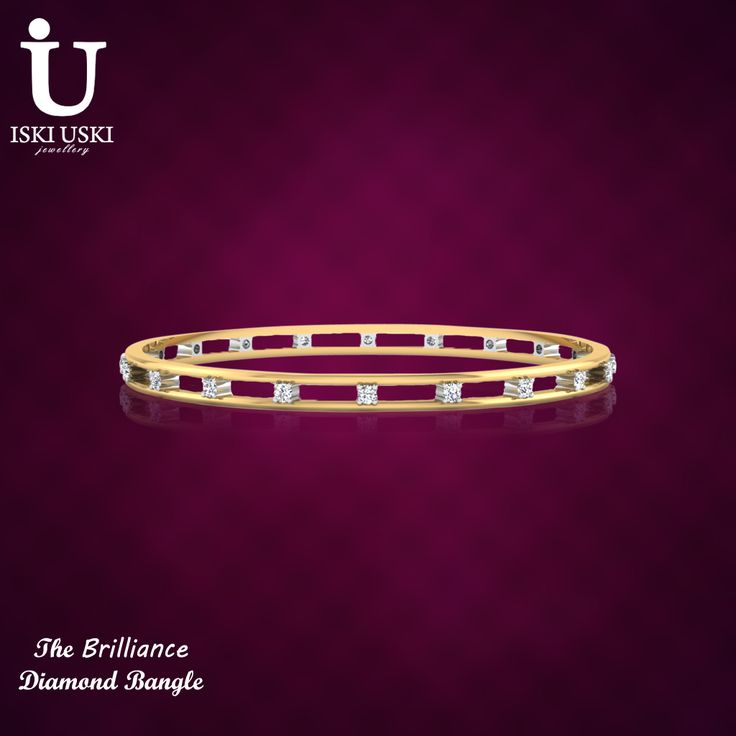 skiUski offer diamond bangles for girls and women with affordable price!! Please visit: http://goo.gl/eHwtOB  #Bangles #DiamondBangles #GoldBangles #OnlineBangles