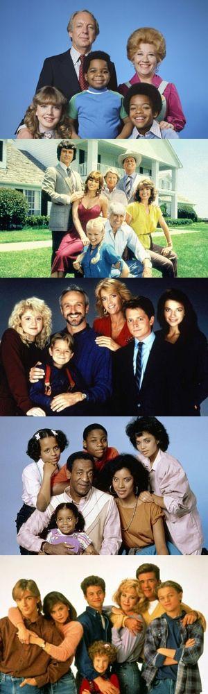 Cinque ottimi telefilm degli anni '80 sulla famiglia