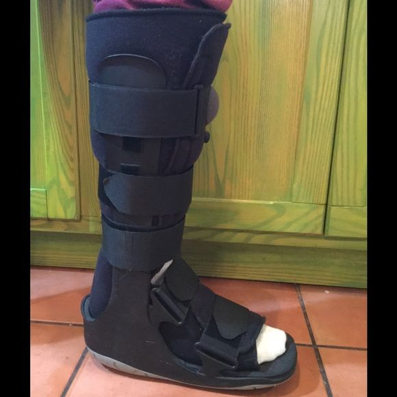 orthopedic pneumatic boot hey did you your foot