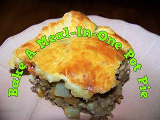 A Pretty Talent Blog: Baking A Meal-In-One Pot Pie