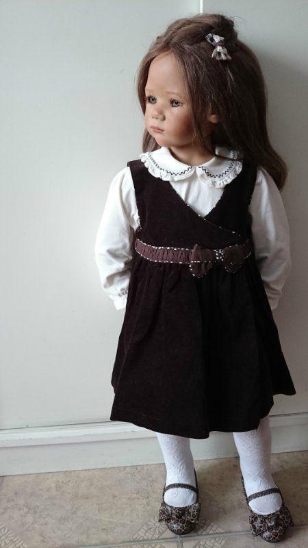 Маленькие и большие, мои любимые Химочки / Коллекционные куклы Annette Himstedt / Бэйбики. Куклы фото. Одежда для кукол
