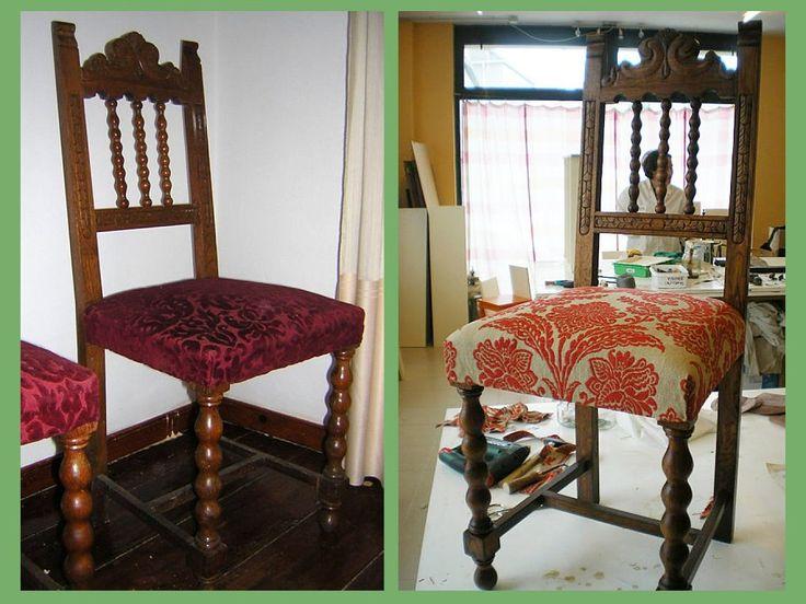 Las 25 mejores ideas sobre tapizar sillones en pinterest y - Tapizar sillon paso a paso ...