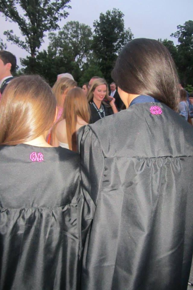 Definitely need to do this on your Graduation gown!!! But maybe a little bit bigger!!!