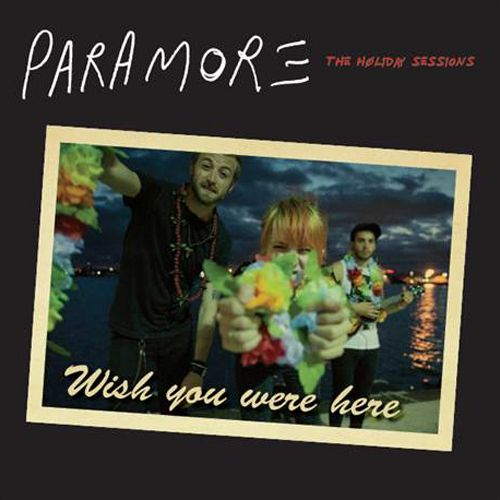 Record Store Day is just over 1 week away and Paramore will be celebrating with an acoustic performance at Grimeys in Nashville. Grimeys will also be selling a Record Store Day exclusive die-cut 7 vinyl in the shape of a hibiscus flower with the 3 interludes from the new album. The Holiday Sessions will be limited to 700 total copies. 300 of those will be available Grimeys with the rest available in The Paramore Webstore for those who cant make it to Nashville.