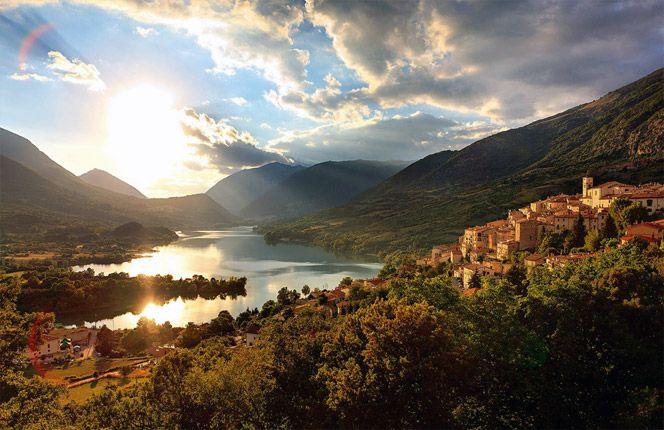 Ecco Barrea, nel Parco Nazionale d'Abruzzo