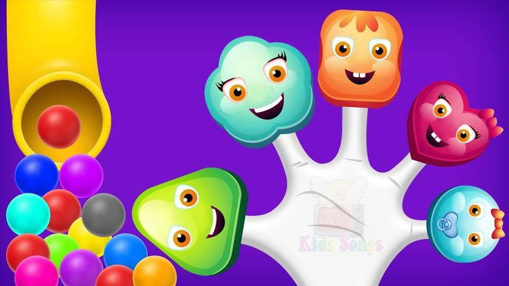 Lollipop Finger Family & Learn Colors - Colours for Kids Animation Education Cartoon Compilation
