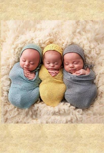 Official Website Baby Blankets Newborn Photography Props Newborn Shawl Stretch Wrap Baby Kids Wraps Hammock Receiving Blankets Wraps Photoshoot Accessories Mother & Kids