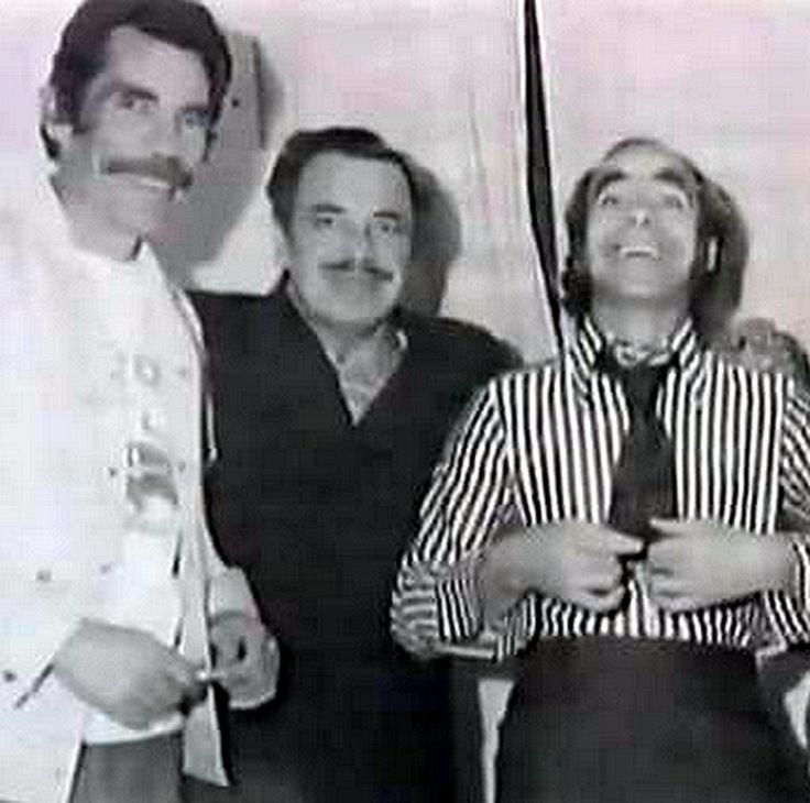 Brothers, Ramon, Tin Tan and El Loco Valdez.