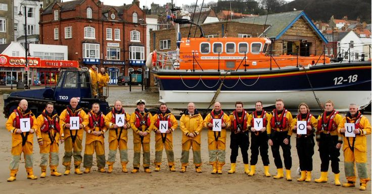 .@RNLIScarborough say THANK YOU to everyone who has donated to their launch & recovery vehicle appeal