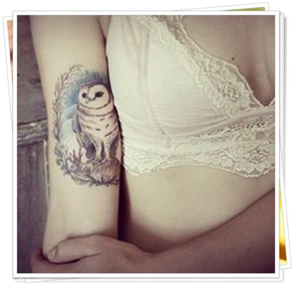 owl tattoo35