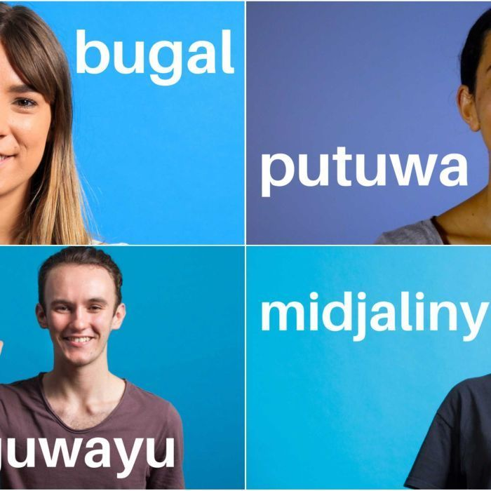These four Indigenous Australians are part of the fight to maintain our linguistic diversity — one word at a time.