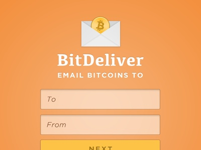 BitDeliver - A new way to send bitcoins to email addresses.