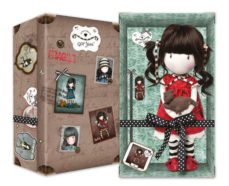 Gorjuss Special Edition Cloth Doll - Ruby - 2