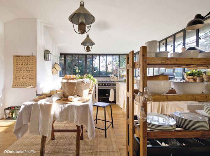 une jolie maison entre esprit campagne et rcup - Jolie Maison Decoration