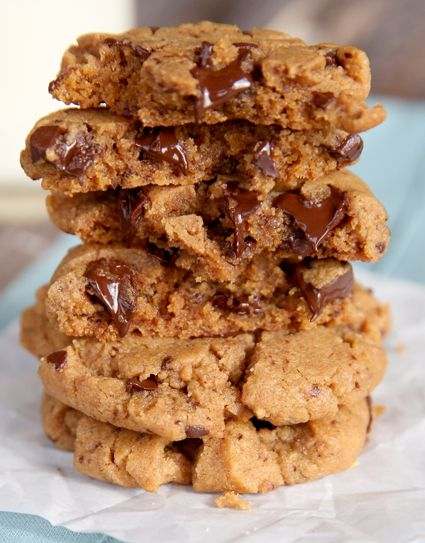 Flourless Peanut Butter Cookies {Quick