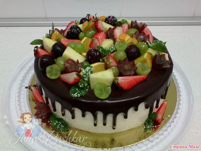 И снова творожно-фруктовые торты!