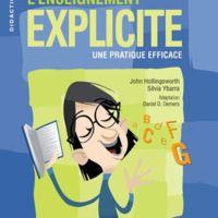 L'enseignement explicite : une pratique efficace (notes de lecture)