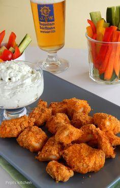 Μία νόστιμη και υγιεινή συνταγή για Κοτομπουκιές για μικρά και μεγάλα παιδιά! Made by Pepi's kitchen!
