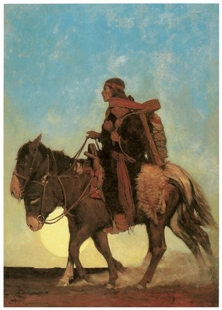 On the October Trail by N.C. Wyeth