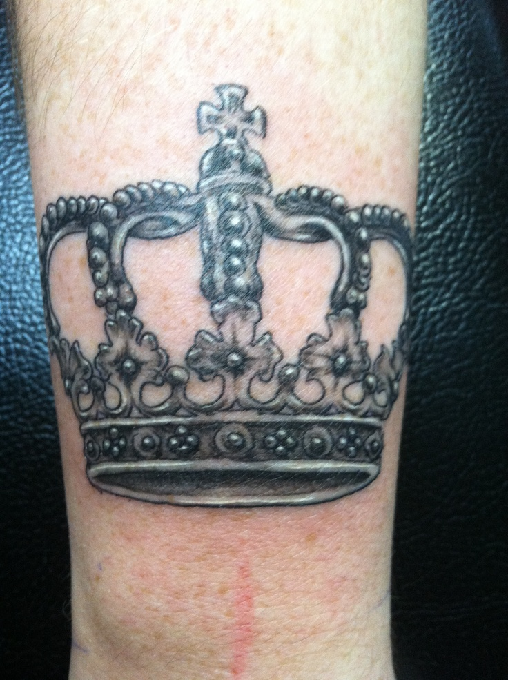 76 best crown tattoo images on pinterest crown tattoo for Best crown tattoos