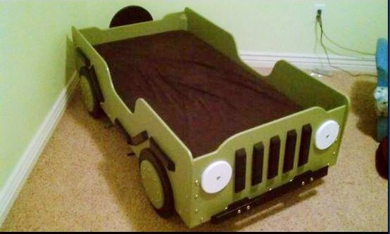 Willys Jeep bed