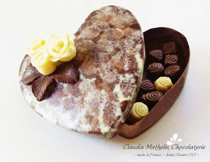 Chocolate Box - Boîte en chocolat et Bonbons de chocolat fin. Edition Limitée