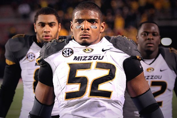 """Michael Sam (NCAA): Michael Sam, one of the best defensive players of the 2013 college football season, came out as gay in an interview with ESPN on Feb. 9. """"I am an openly proud gay man,"""" Sam, a six-foot-two, 255-pound, punishing All-American linebacker for the Missouri Tigers, told ESPN. As the 2014 NFL draft approaches, he's now poised to become the first openly gay player in the history of the National Football League. Sam first came out to his college teammates and coaches in August…"""