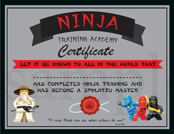 The  Best Training Certificate Ideas On   Jedi Games