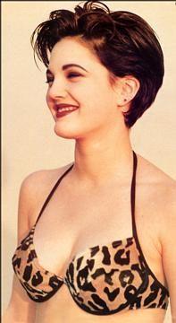 90′s Drew Barrymore Leopard Bikini