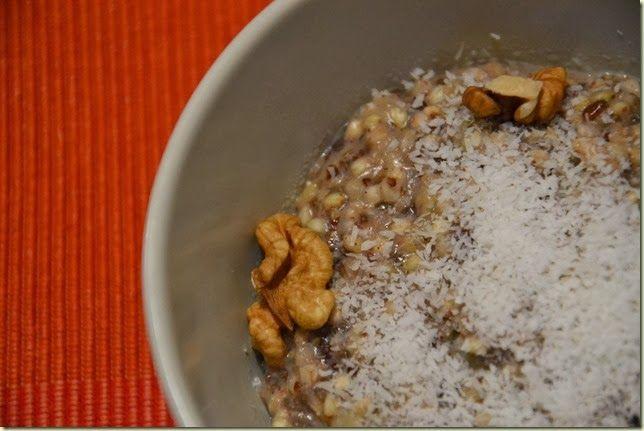 Nedělní (bezlepková) snídaně: pohanková kaše