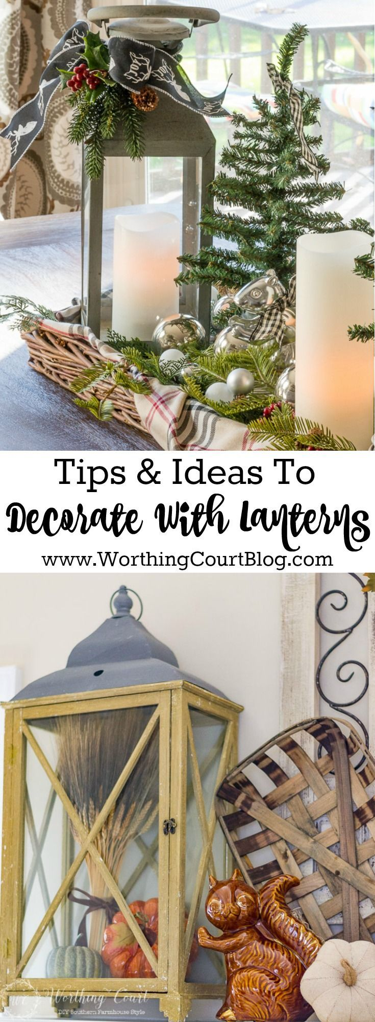 Best Decorative Lanterns Ideas On Pinterest Fall Decor