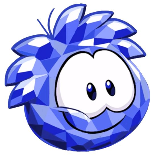 Look at this lil Crystal!Wait why does it has eyes?Because it's a Crystal Puffle!You can get him/her at The Merry Walrus party!