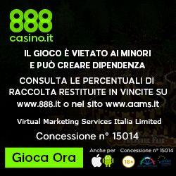 Sempre Con Noi di 888.it: ogni mese le tue ricariche sono premiate con ottimi bonus! – Casino Online – Bonus Casinò Gratis Italiani