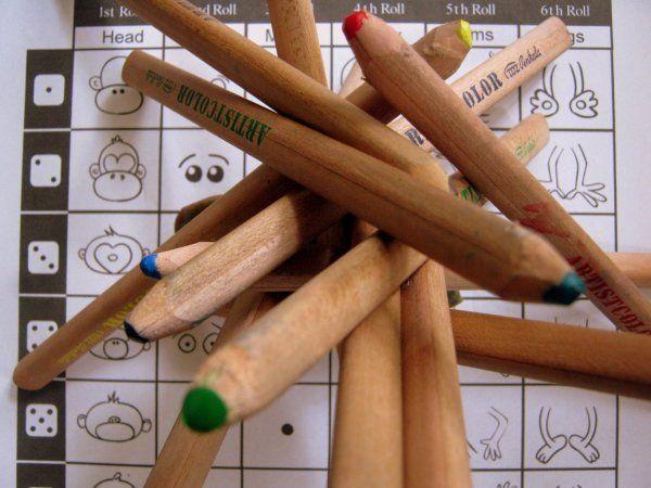Majomparádé dobókockával – avagy hogyan rajzoljunk majmot? | Időtetrisz