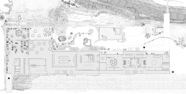 "Imberg Arkitekter - Proposal for ""Barnrum"" - A space for children in Stockholm. Plan."