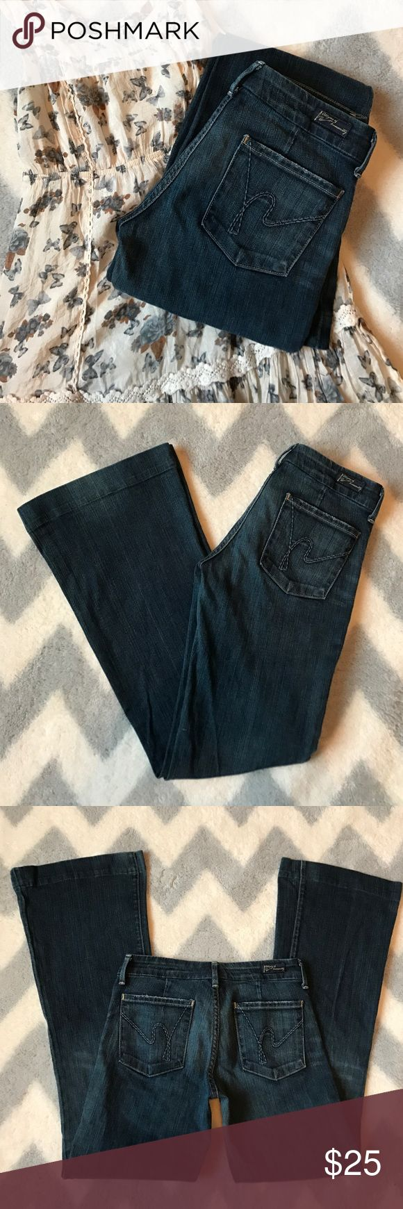 🦋 SALE! Citizens of Humanity jeans Citizens of Humanity jeans, style is Faye #003 stretch, low waisted full leg. Excellent condition no rips or stains. Citizens of Humanity Jeans