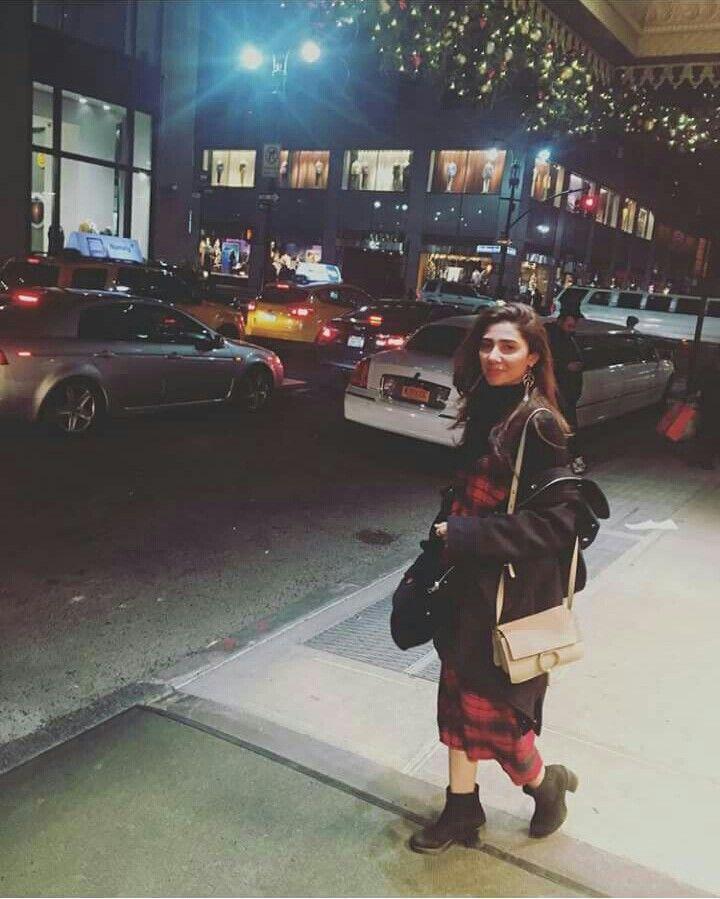 Mahira Khan New York City