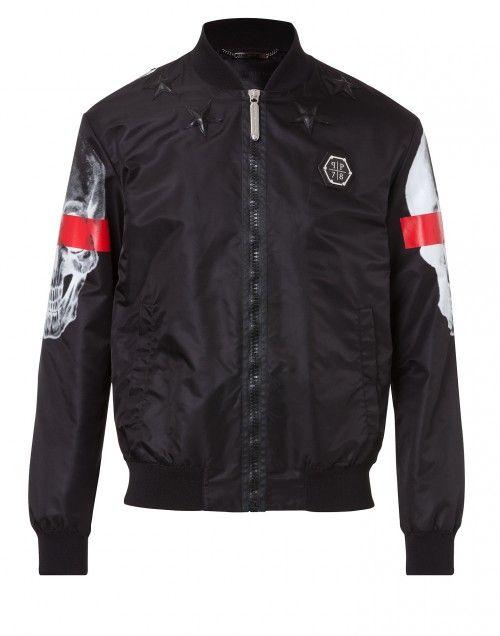 "bomber jacket ""right now"" Philipp Plein - For the men- Autumn - New Arrivals"