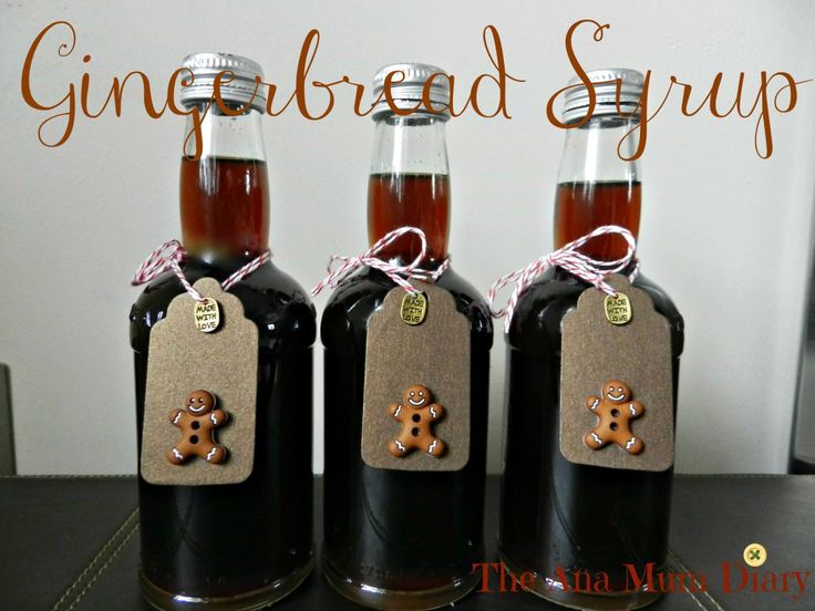 Gingerbread Syrup for Coffee