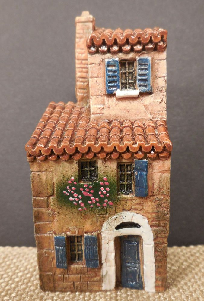 J. Carlton Hand Painted Provence Miniature House # 210266 Gault style